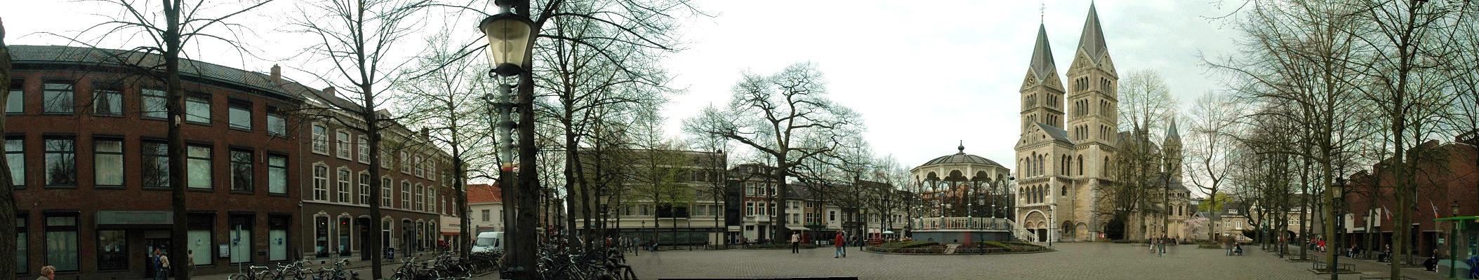 Panoramafoto Munsterplein Roermond